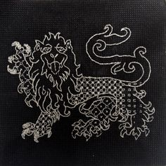 Blackwork Embroidery  Chasing LuLa