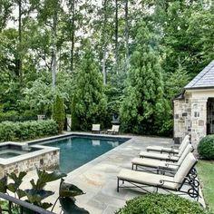 dreamy backyard pool area inground pool designsswimming - Inground Swimming Pool Designs Ideas