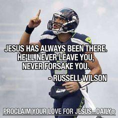 Russell Wilson quarterback from Seattle Seahawks.