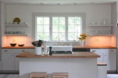 """After"" Photo in Modern Kitchen Renovation, Remodelista"