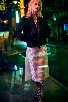 cyber girl: aline weber by ben morris for elle russia february 2016 | visual optimism; fashion editorials, shows, campaigns & more!