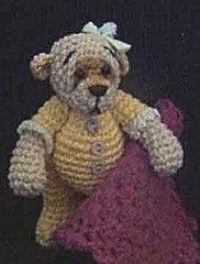 My Crochet Thread Bear Baby..
