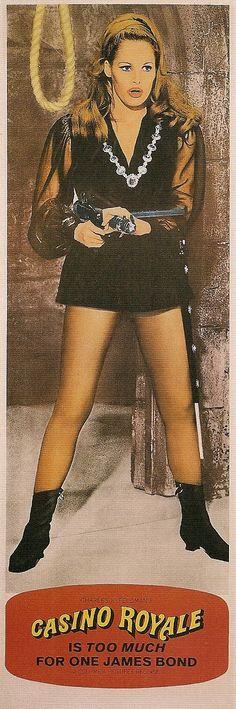 Vesper Lynd - Ursula Andress - James Bond 007's spoof - Casino Royale 1967