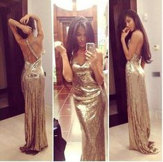 Gold sequin prom dresses, backless prom dresses, prom dresses 2016, cheap prom dresses, long prom dresses, prom dresses 2016, 17133 sold by OkBridal. Shop more products from OkBridal on Storenvy, the home of independent small businesses all over the world.