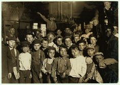 Newsies - Indianapolis, Indiana. One of Lewis Hines' photographs for the national Child Labor Committee. 1908