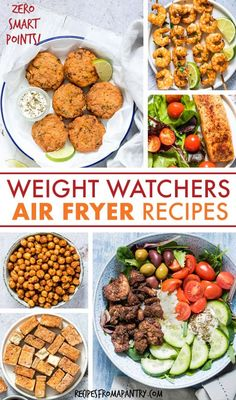 With the air fryer you can enjoy delicious healthy low calorie meals sides and snacks! These weight watchers air frye. Healthy Low Calorie Meals, No Calorie Foods, Low Calorie Recipes, Ww Recipes, Lunch Recipes, Eat Healthy, Simple Healthy Recipes, Family Recipes, Recipes Dinner