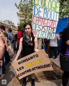 Monsanto les abeilles contre attaquent #archive 2016-05-21 Paris #france Marche contre Monsanto #MaM #MarchAgainstMonsanto #report #gaelic69