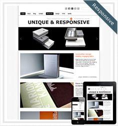 15 Free Responsive WordPress Themes You can't Afford to Miss Web Design Basics, Free Portfolio, Interactive Media, Brochure Design, Wordpress Theme, About Me Blog, Templates, Themes Free, Grid