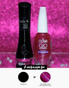 Combinando Esmaltes: Roxo metálico bapho! - Unha Bonita Shellac Colors, Nail Colors, Nail Mania, Pedicure Nails, Pedicures, Nail Tutorials, Nails Inspiration, Nail Designs, Hair Beauty
