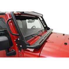 Mounts on JK Front Hoop as a non-slip step platform, spans windshield/hood area of JK. Bolt-on use with JK Front Hoop. Made of high grade tubular steel, supports 350 lbs.