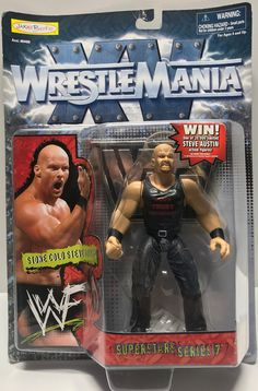 The Angry Spider Has All Of The Toys You Want For Your Collection: TAS002008 - 1998 ...  Check it out here! http://theangryspider.com/products/tas002008-1998-jakks-wrestlemania-wwe-superstar-stone-cold-steve-austin?utm_campaign=social_autopilot&utm_source=pin&utm_medium=pin