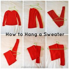 how to organize sweaters | 17 Best ideas about Sweater Storage on Pinterest ...