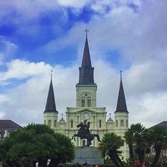 Always great to be back in #Nola with great friends! #JacksonSquare #FrenchQuarter by maverbook
