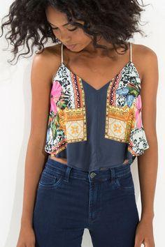 blusa alcinha lenco lindo Adoro Farm, Farm Rio, Outfit Goals, Everyday Outfits, Casual Looks, Ideias Fashion, Classy, Tank Tops, Shirts