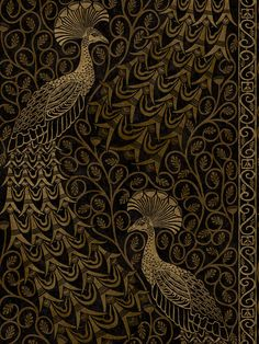 Cole & Son Pavo Parade Wallpaper at John Lewis & Partners Cole And Son Wallpaper, Green Wallpaper, Wall Wallpaper, Wallpaper Samples, Pattern Wallpaper, Animal Delivery, Tv Unit Furniture Design, Cole Son, John Perry