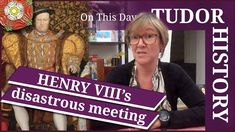 "In today's ""on this day in Tudor history talk"", Claire Ridgway, author of several Tudor history books, puts you out of your misery from the cliffhanger she l. Anne Of Cleves, Anne Boleyn, Tudor History, History Books, Catherine Of Aragon, King Henry Viii, January 1, Ted Talks, Tv Videos"