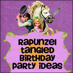 Tangled Rapunzel Birthday Party Ideas from DianaRambles.com