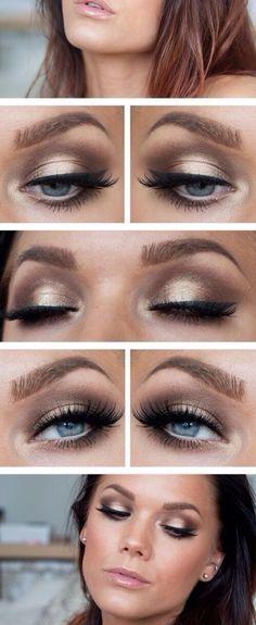 Brownish Eyes