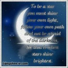 Shine your brightest