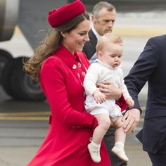 The Royal Family Lands in New Zealand! See What Kate MiddletonWore
