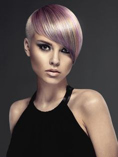 Michelle Pargee, 2013 Contessa Colourist of the Year weaves a delicate confection of pastels. Love the cut design too!
