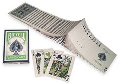 Bicycle Twilight Green Blue Rare Deck Playing Cards by Bicycle. $2.25. Bicycle Twilight Green Blue playing cards