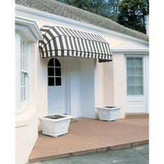 This amazing pvc awning is unquestionably a remarkable design alternative. Arched Doors, Old Doors, Windows And Doors, Diy Awning, Awning Canopy, Outdoor Window Awnings, Patio Awnings, Canvas Awnings, Polycarbonate Roof Panels