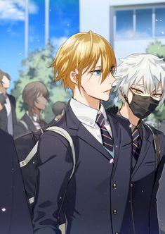 @Oops_serota: セロタ 2019-05-22 05:59綺麗すぎて人が近づかない美形の国広君と友人の鳴狐先輩※突然の学パロ Manga Boy, Manga Anime, Anime Boys, Touken Ranbu Nakigitsune, All Out Anime, Mutsunokami Yoshiyuki, Anime Group, Handsome Anime Guys, Bishounen