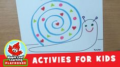 Let's do a simple and fun snail activity for kids and then sing The Snail Song! Download the snail and more here: http://mapleleaflearning.com/library/the-sn...