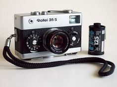 Rollei 35 S. Smallest non-electronic-shutter 35mm camera ever made.
