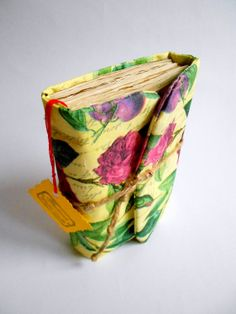 Rose Journal, Handmade Diary, Travel Book, Old Paper, Pregnancy journals, Notebooks on Etsy, $21.99