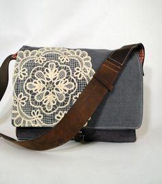 doily on bag