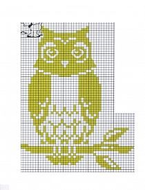Cross Stitch Owl, Cross Stitch Kits, Cross Stitch Charts, Cross Stitching, Cross Stitch Embroidery, Cross Stitch Patterns, Maori Patterns, Owl Patterns, Knitted Mittens Pattern