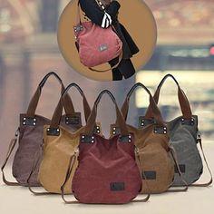 Adele Gourdin Messengertasche | Mode | Tote handbags, Canvas