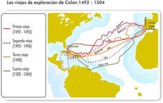 Voyages de C. Colomb sur un site intéractif (idéal TBI) http://portalacademico.cch.unam.mx/atlas/conquista#prettyPhoto[flash]/0/