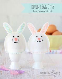 Bunny Egg Cosy Tutorial