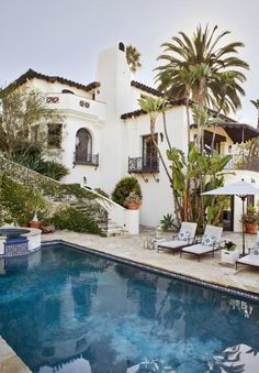 I have had a long love affair with the Spanish Revival style. I think it has to do with the Old...