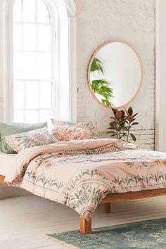 Slide View: 1: Iris Sketched Floral Comforter