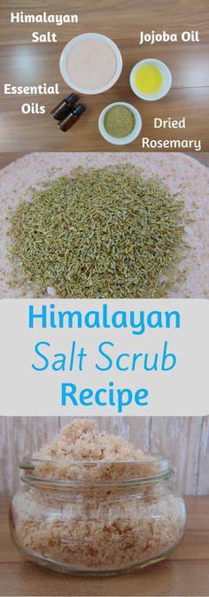 Himalayan Salt Scrub Recipe - The Granola Hustle