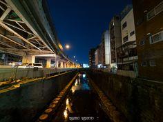 Tengenji Exit of Metropolitan Expressway Route 2 Meguro Line  by Takahiro Yamamoto