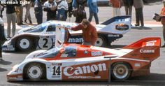 RSC Photo Gallery - Silverstone 1000 Kilometres 1984 - Porsche 956 no.14 - Racing Sports Cars