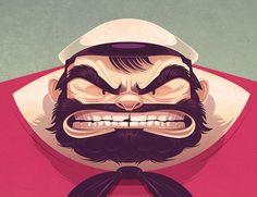 Focus   Illustration de Popeye par James Gilleard