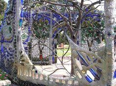 Minnie Evans Bottle Gazebo at Airlie Gardens
