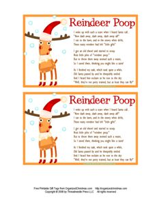 Reindeer Poop! I hope my family likes this because everyone is going to get a bag...
