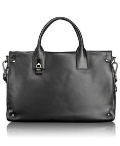 Slim Leather Satchel - On sale now @ Tumi.com.  Gorgeous bag for work!