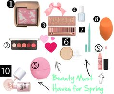 Beauty Must Haves for Spring
