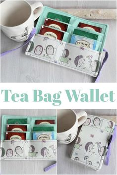 O M Squeeeeeeeeee is this not the cutest little tea wallet ever? Who knew something like this even existed ?? I need a tea wallet in my life ASAP ! / #tea #wallet #fashionaccessory #shopaffiliate #cutegifts #giftsforher Perfect for #travel