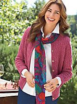 Women's Wool Cable Cardigan | Norm Thompson | Norm Thompson