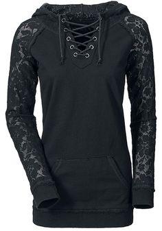 Schwarz Ebene Kordelzug Lace Long Sleeve Fashion Polyester