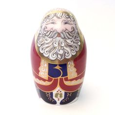 Royal Crown Derby Santa Claus Paperweight